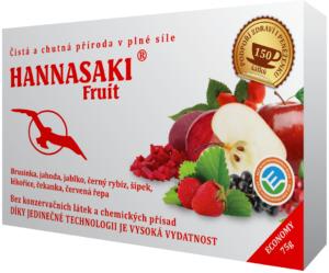 Fruit ovocný čaj s brusinkou, jahodou, jablkem, černým rybízem, šípkem, lékořicí, čekankou a červenou řepou - zdravé čaje Hannasaki