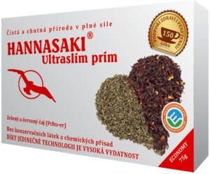 Ultra slim prim zelený čaj a červený čaj Pchu-er - čaj císařů - zdravé čaje Hannasaki