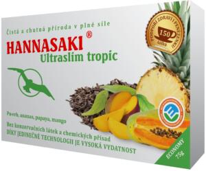 Ultraslim tropic červený čaj Pu-erh s ananasem, papájou a mangem - zdravé čaje Hannasaki