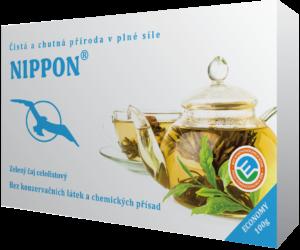 Nippon - Nefermentovaný zelený čaj, celo listový - nepoškozen nesprávnou technologií zpracování (fermentací a vadnutím). Zdravý nápoj plnohodnotné chuti, působí jako antioxidant, povzbuzuje psychickou a fyzickou stimulaci, prospívá zdraví i kráse.