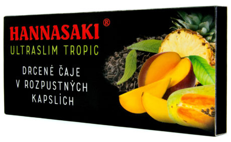 Hannasaki Ultraslim Tropic – kapslovaný