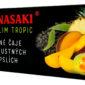 Hannasaki Ultraslim Tropic - kapslovaný čaj - praktické balení vhodné na cesty a outdoorové aktivity. Snadná příprava během několika minut. Červený čaj Pchu-er obohacený příchutí manga, ananasu a papáji obsahující jedinečná kapslovaná přírodní aromata.