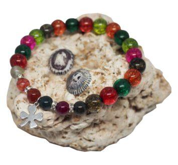 Náramek z minerálů – turmalín